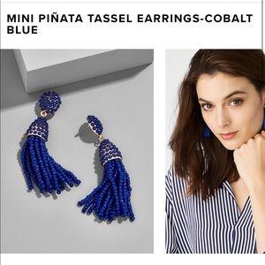 BaubleBar new piñata earring cobalt blue
